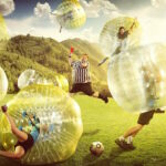 Amsterdam Bubble Football game