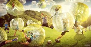 Amsterdam Bubble Football game