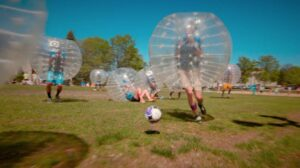 Outdoor Bubble Football Amsterdam