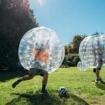 Outdoor Amsterdam Bubble Football
