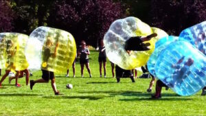 Outdoor Amsterdam Bubble Football