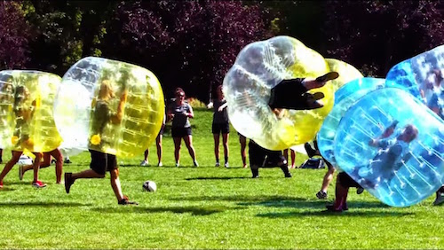 Outdoor Bubble football Amsterdam Zorb Football