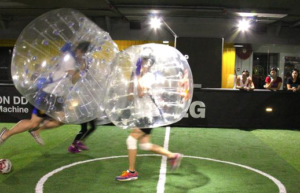 Indoor Bubble Football Amsterdam